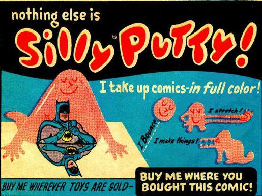 Игрушка Silly Putty (Умный пластилин)
