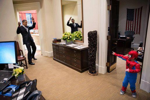 Пит Сауза Обама ребенок