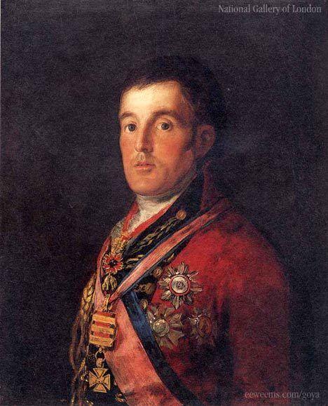 Гойя «Портрет герцога Веллінгтона»