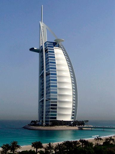 Бурдж аль-Араб, Дубай, Объединенные Арабские Эмираты