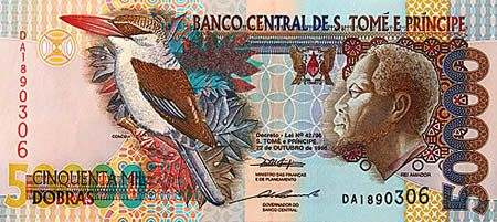 деньги Сан-Топе и Принсипи