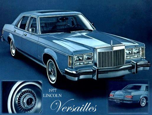 Линкольн Версаль 1977