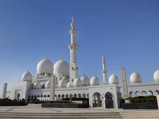 Мечеть Шейха Заида, Абу-Даби, Объединенные Арабские Эмираты