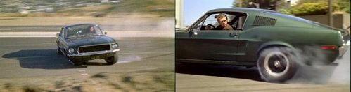 Ford Mustang GT390 из кинофильма «Приключения буллитов»