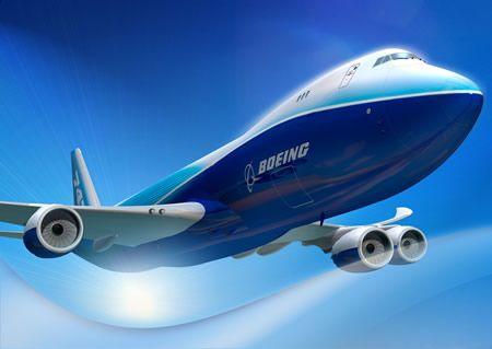 Boeing самолет