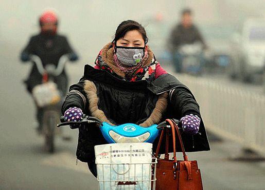 Китай загрязнение атмосферы