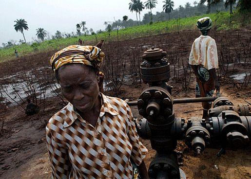 Нигерия загрязнение
