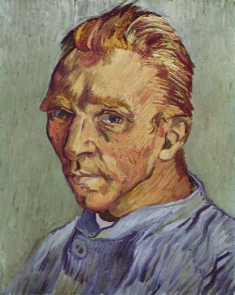 Портрет художника без бороди, Вінсент Ван Гог