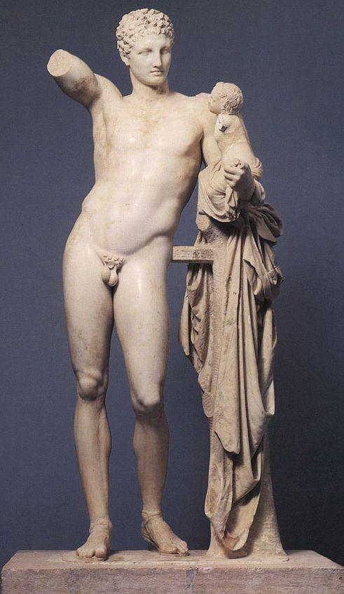 Статуя Гермеса