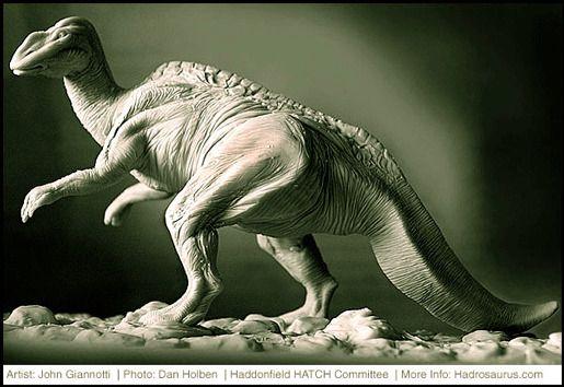 Нью-Джерси: Гадрозавр Foulkii