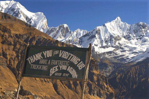Базовый лагерь Аннапурны, Непал