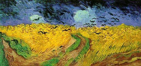 Ван Гог «Ворони над хлібним полем»