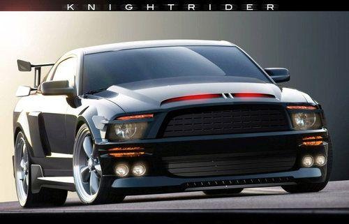 Ford Mustang GT500KR из кинофильма «Рыцарь дорог»