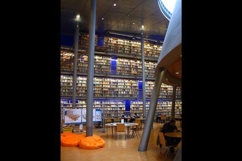 Библиотека Технологического университета в Делфте
