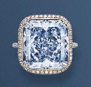 Рідкісний блакитний діамант