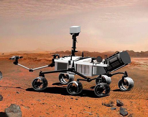 Исследование Красной планеты «Curiosity»