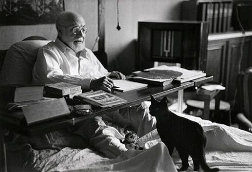 Анри Матисс и его кот