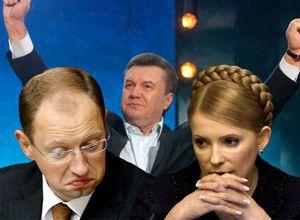 Квітневі рейтинги кандидатів у президенти: Янукович попереду
