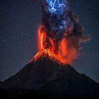 Найсильніші виверження вулканів