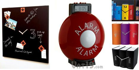 Time Square clock, Alarm clock, Table Clock Book