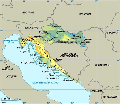 Хорватия безработица