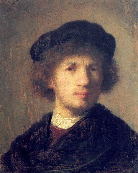 Рембрандт «Автопортрет»