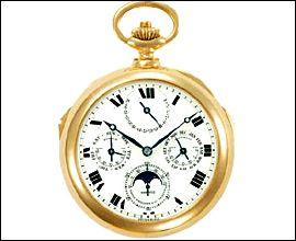 Найдорожчий годинник