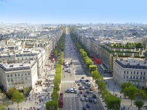 Самые дорогие европейские улицы: рейтинг цен на аренду недвижимости (Париж, Елисейские поля)