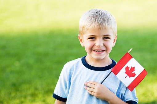 Канада дети