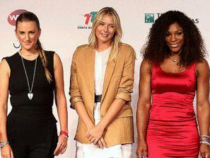 Тройка лучших теннисисток