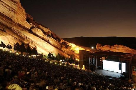 RED ROCKS AMPHITHEATRE, Колорадо, США