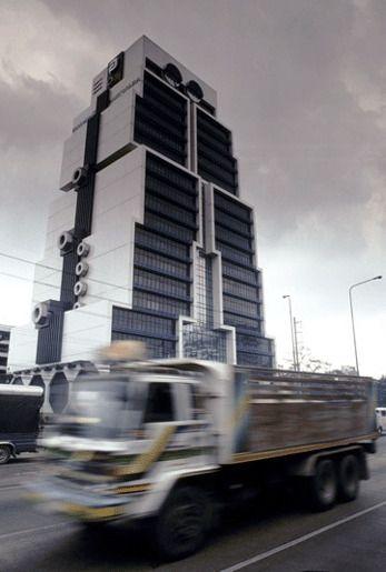 Здание-робот, Бангкок, Таиланд
