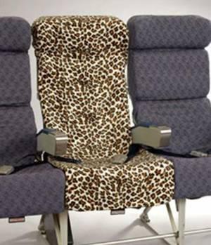 Чохол для крісла в літаку