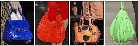 Самые модные сумки: игра цвета