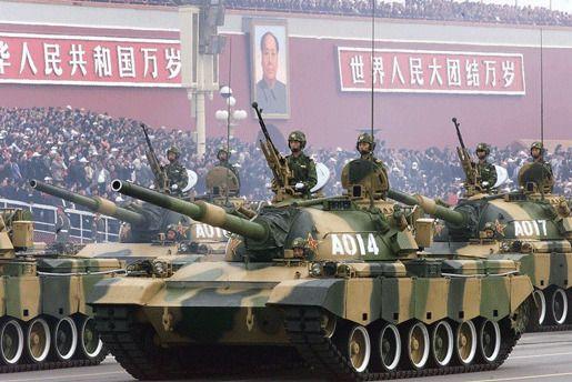 Расходы вооружения Китай