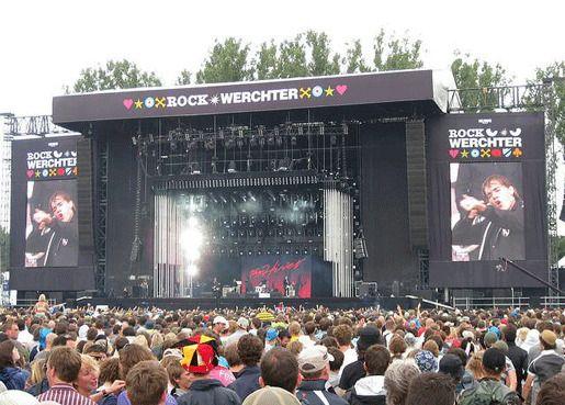 Rock Wechter сцена