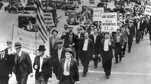 Забастовка портов Западного побережья 1934 года, США