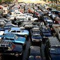 Города, перегруженные автомобилями