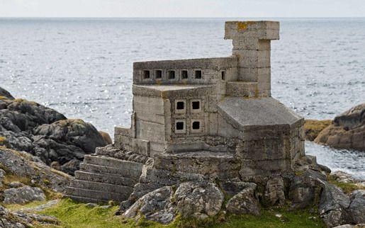Замок Отшельника, Акмелвич, Шотландия