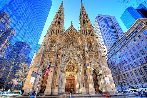 Собор Святого Патрика в Нью-Йорк
