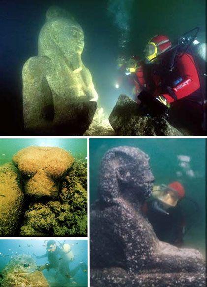 Подводные руины Александрии