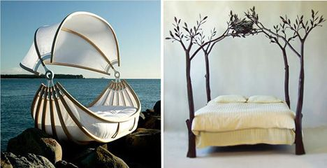 Okooko Bed, кровать-дерево