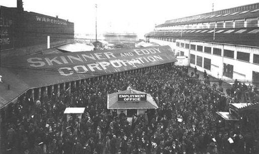 Всеобщая забастовка в Сиэтле, США