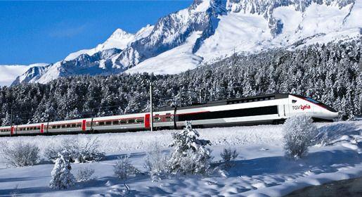 «TGV Lyria»: из Парижа в Цюрих