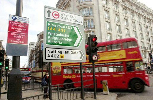 Лондон пробки