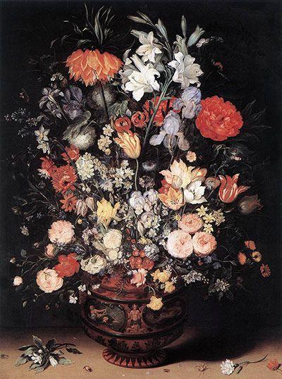 Ян Брейгель-старший Цветы в вазе