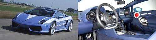 Lamborghini Gallardо итальянской полиции