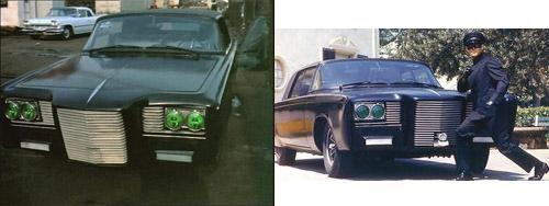Chrysler Crown Imperial 1966 из сериала «Зеленый Шершень»