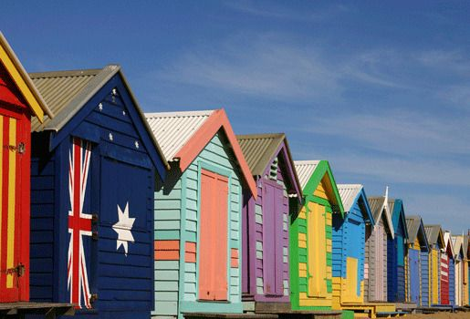 Брайтон Бич (Мельбурн), Австралия