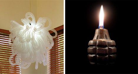 Kaboom! та масляна лампа Grenade Oil Lamp